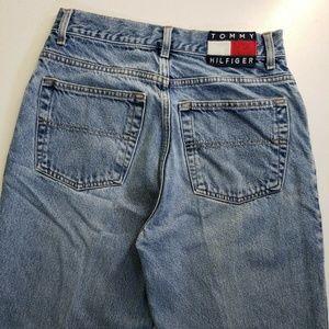 Tommy Hilfiger Jeans - Tommy Hilfiger Men Denim Taper Leg Blue Jeans 30